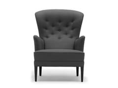 Poltroncina capitonné in legno massello con braccioliFH419 | Heritage Chair - CARL HANSEN & SØN MØBELFABRIK A/S