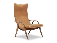 Poltroncina imbottita in legno massello con braccioliFH429 | Signature Chair - CARL HANSEN & SØN MØBELFABRIK A/S