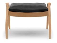 Poggiapiedi imbottito in legno masselloFH430 | Signature Footstool - CARL HANSEN & SØN MØBELFABRIK A/S