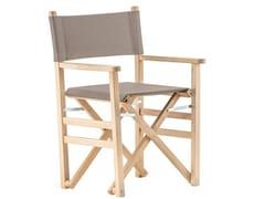 Sedia da giardino in legno DIRECTOR IN ROBINIA -