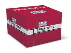 FASSA, FIBER MST 20 Fibre polimeriche per il rinforzo di massetti
