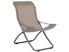 Sedia a sdraio pieghevole con braccioli FIESTA XL -