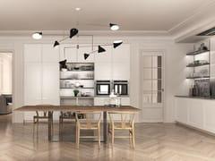 Cucina componibile laccata lineareFILÒ | Cucina lineare - EUROMOBIL
