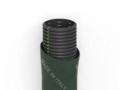 Tubi corrugati fessurati rivestiti con fibra geotessileFILDREN | DN/ID diametri interni - ITALIANA CORRUGATI