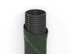 Tubi corrugati fessurati rivestiti con fibra geotessileFILDREN | DN/OD diametri esterni - ITALIANA CORRUGATI