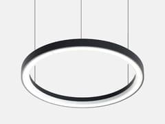 Lampada a sospensione a LED in alluminio estrusoFILE FLEX CIRCLE DIFFUSED 24V - LUCIFERO'S