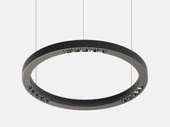 Lampada a sospensione a LED in alluminio estrusoFILE FLEX CIRCLE SPOT 48V - LUCIFERO'S