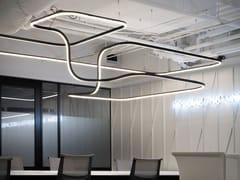 Profilo per illuminazione lineare a LED in alluminioFILE FLEX SISTEMA - LUCIFERO'S