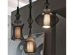 Lampada a sospensione in metallo in stile modernoFILE | Lampada a sospensione - ADRIANI E ROSSI EDIZIONI