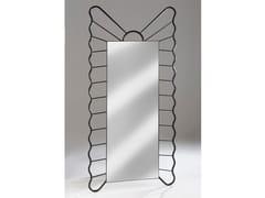 Specchio con cornice in ferroFILICUDI | Specchio - BAREL