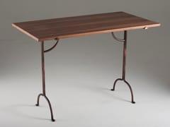 Scrivania in legno impiallacciato e ferroFILICUDI | Scrivania in legno impiallacciato - BAREL