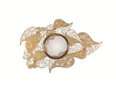 Specchio rotondo in ottone da parete con corniceFILIGREE | Specchio - BOCA DO LOBO