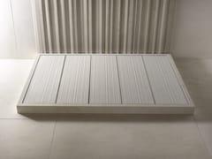 SALVATORI, FILO RAISED Piatto doccia rettangolare in marmo