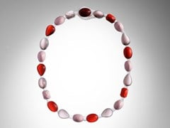 Collana in resina FILO STONES - CORSI DESIGN FACTORY