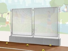 Recinzione in alluminio o acciaio al carbonioFILS 21 BASE - FILS