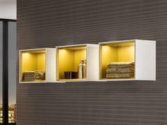 Mobile bagno a giorno sospeso con illuminazione integrata FINION | Mobile bagno a giorno - Finion