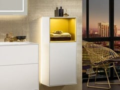 Mobile bagno a colonna con ante con illuminazione integrata FINION | Mobile bagno a colonna - Finion