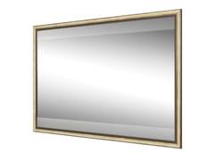 DWFI, FINITOR Specchio in metallo con illuminazione integrata da parete per bagno