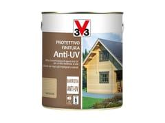 Protettivo e finitura anti-uv per legnoFINITURA ANTI-UV - V33 ITALIA
