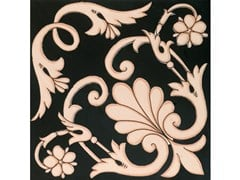 Rivestimento / pavimento in ceramicaFIORI SCURI IERANTO NERO-AVANA - CERAMICA FRANCESCO DE MAIO