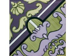 Rivestimento / pavimento in ceramicaFIORI SCURI PASTENA - CERAMICA FRANCESCO DE MAIO