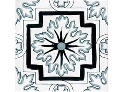 Rivestimento / pavimento in ceramicaFIORI SCURI STABIA - CERAMICA FRANCESCO DE MAIO