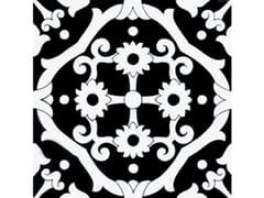 Rivestimento / pavimento in ceramicaFIORI SCURI TOVERE NERO - CERAMICA FRANCESCO DE MAIO