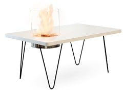 Planika, FIRE TABLE MINI Tavolino con caminetto integrato