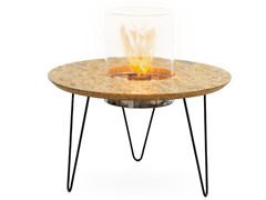 Planika, FIRE TABLE ROUND Tavolino con caminetto integrato