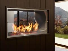EcoSmart Fire, FIREBOX 1000DB Inserto per camini a bioetanolo a doppia facciata in acciaio inox