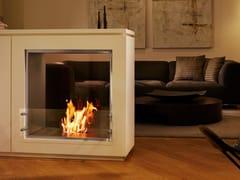 EcoSmart Fire, FIREBOX 650DB Inserto per camini a bioetanolo a doppia facciata in acciaio inox
