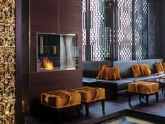 Inserto per camini a bioetanolo a doppia facciata in acciaio inox FIREBOX 900DB - Premium Double Sided Fireplaces