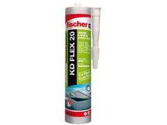 Sigillante adesivo a base di polimeri ibridiFISCHER KD FLEX 20 - FISCHER ITALIA S.R.L.