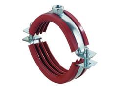 Collare con guarnizione al silicone rossoFISCHER KRSH - FISCHER ITALIA S.R.L.