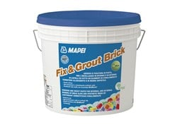 Adesivo in pasta antimuffaFIX & GROUT BRICK - MAPEI
