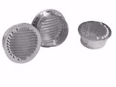 Griglia di ventilazione rotonda in alluminioGRIGLIA FISSA TONDA IN ALLUMINIO - DAKOTA GROUP