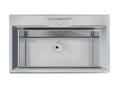 Lavello a una vasca filo top in acciaio inoxFL 1V 72x32 FT INOX - FOSTER