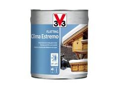 Vernice protettiva per legno esposto a climi estremiFLATTING CLIMA ESTREMO - V33 ITALIA