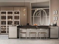 Cucina componibile con maniglieFLAVOUR BRIDGE/NECK 3 - CUCINE LUBE