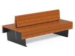 DIMCAR, FLEA   Panchina con schienale  Panchina con schienale
