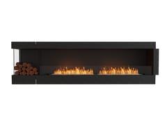 Inserto per camini a bioetanolo in acciaio con vetro panoramicoFLEX 104LC BXL - ECOSMART FIRE