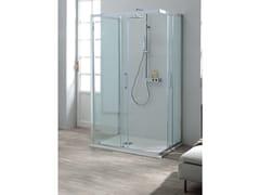 Box doccia centro pareteFLEX + FISSO | Box doccia centro parete - TAMANACO