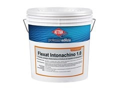 ATTIVA, FLEXAT INTONACHINO 1.0 Prodotto elastomerico antialga di finitura