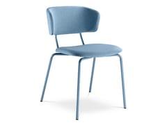 Sedia in tessuto con schienale apertoFLEXI CHAIR 120 - LD SEATING