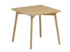 Tavolo quadrato in legnoFLEXX | Tavolo quadrato - JARDINICO
