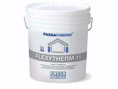 FASSA, FLEXYTHERM 11 Rasante di armatura in pasta fibrato
