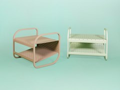 Poggiapiedi / tavolino in metalloFLIP | Poggiapiedi - L'ALBERO PROGETTI