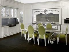 Cucina laccata in ciliegio FLORAL | Cucina - Floral