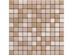 Mosaico in gres porcellanato per interni ed esterniFLORES MATT - CE.SI. CERAMICA DI SIRONE