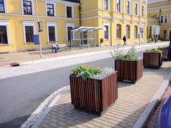 mmcité1, FLORIUM Fioriera per spazi pubblici in acciaio